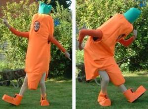 """Фигура """"морковка"""" Фото"""