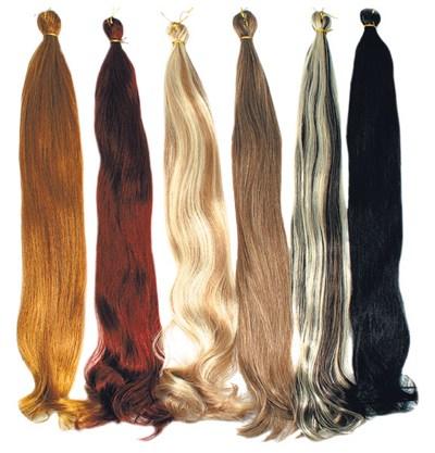 Как сделать искусственные волосы гладкими