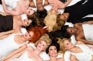 Макияж под цвет волос фото