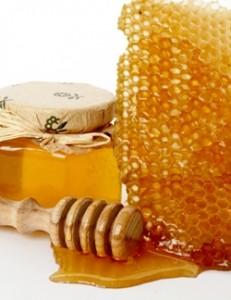 Скраб для лица из мёда фото