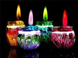 Красивые свечи своими руками фото
